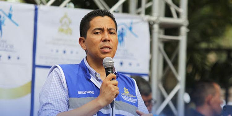Reinaldo Sánchez, titular de la Secretaría de Desarrollo e Inclusión Social en Honduras.