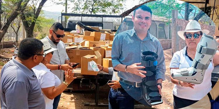 La diputada Aída Reyes, dijo que las actividades de ayuda se extenderán a los demás municipios de Yoro.