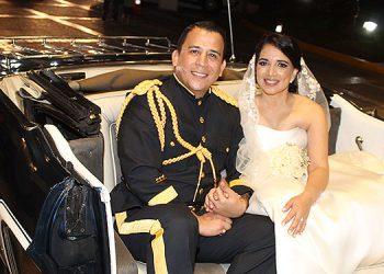 José Armando y Stephani festejaron su boda en el Hotel Real Intercontinental.