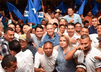 """El líder de Salvemos Honduras recorrió la """"sultana del sur""""."""