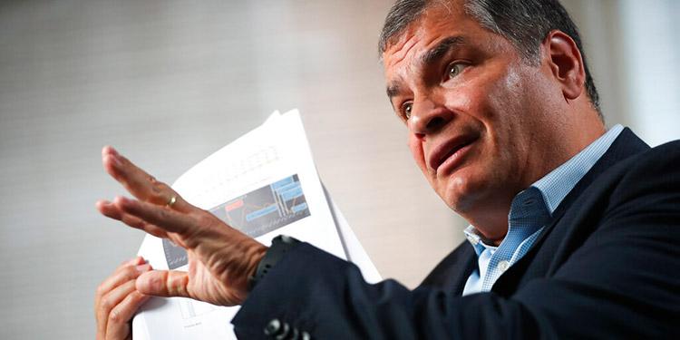 Fiscalía de Ecuador pide a la Corte que ratifique la condena contra Rafael Correa