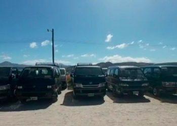 """Hasta el mediodía las autoridades, habían decomisado unas 25 unidades de """"brujitos""""."""