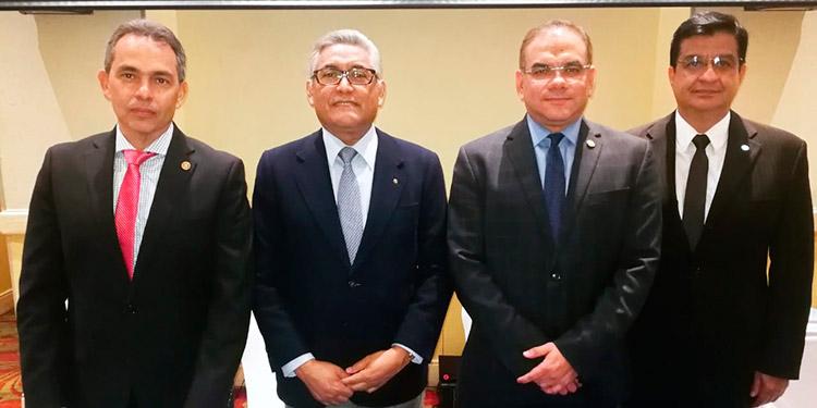 Edgardo Yescas, Francisco Barahona, Marco Aguirre, César Maradiaga.