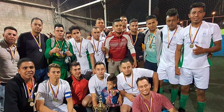 Corinfar Laboratorio se coronó campeón ganando en la final 3-1 a Inferra.