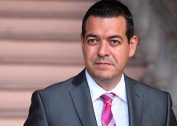 Carlos Madero, secretario de Trabajo.