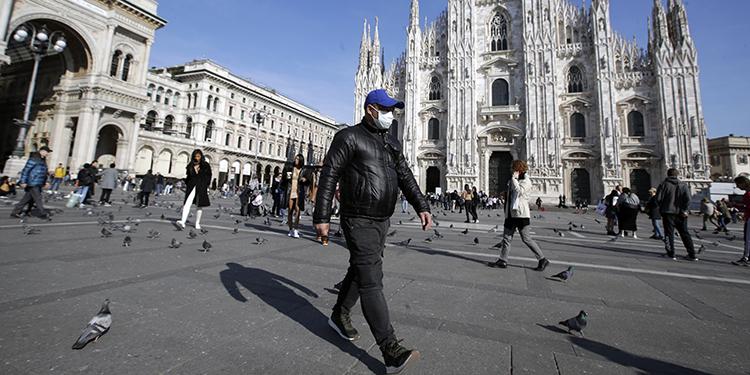 Suben casos de coronavirus en Italia; EEUU exhorta no viajar