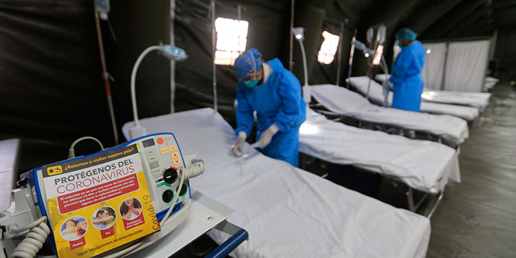 Hoy llega equipo para salas de COVID-19 en 13 hospitales