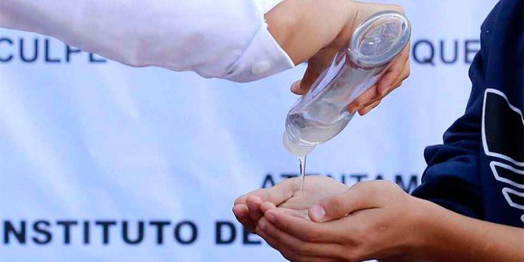 Levanta actas a 12 comercios por alza a precios al gel antibacterial