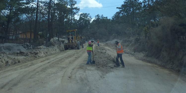 El tramo de 37 kilómetros de San Juan a Erandique quedará a nivel de terracería y se negocia la pavimentación.