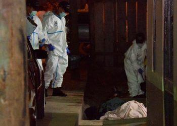 Los otros jóvenes expiraron cerca de unas gradas, mientras que Deibi Anderson Alemán murió en el Hospital Escuela.