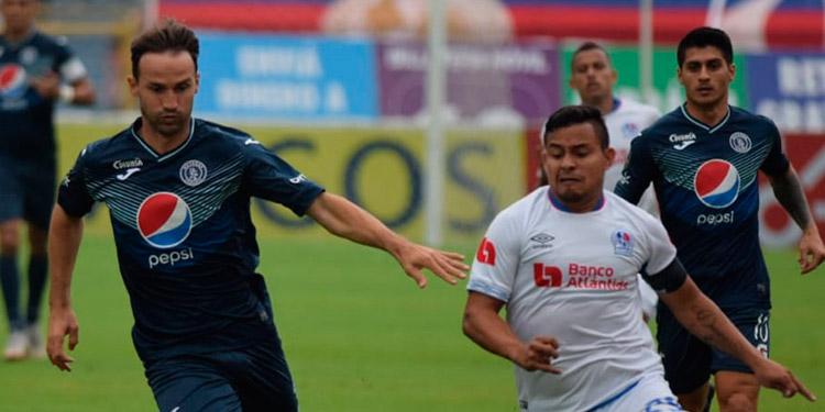 Motagua y Olimpia se estarían jugando las vueltas, hoy que se enfrentan en el estadio Carlos Miranda de Comayagua.