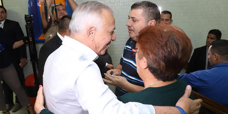 """""""Me alegra mucho la recuperación de 'Chelato' Uclés"""": M. Oliva"""