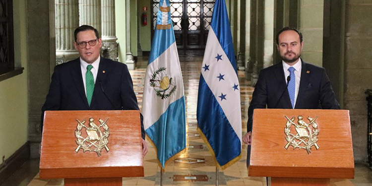 Coronavirus y Unión Aduanera en agenda Honduras-Guatemala