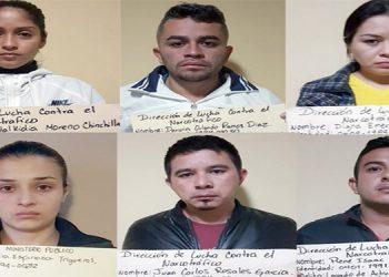 Los encausados fueron capturados el pasado 13 de noviembre del 2017.