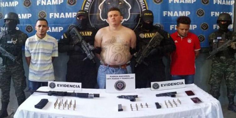 Los sujetos fueron aprehendidos en el barrio Suyapa, del sector Chamelecón, San Pedro Sula, Cortés.