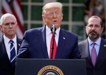 Trump anuncia que suspende el financiamiento de EEUU a la OMS