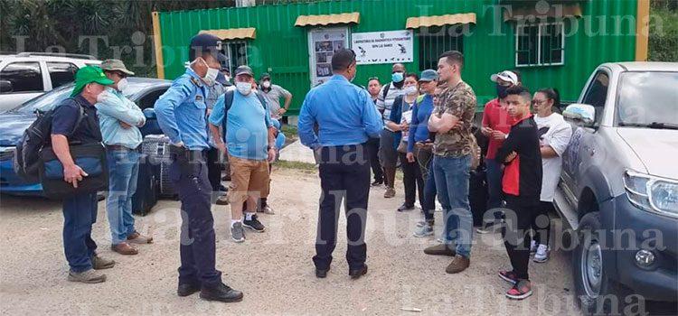 En cuarentena 20 hondureños que ingresaron por aduana Las Manos