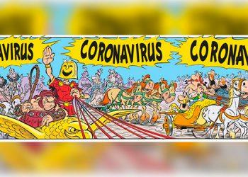 Astérix y Obélix ya se enfrentaron a 'Coronavirus' en un cómic en 2017