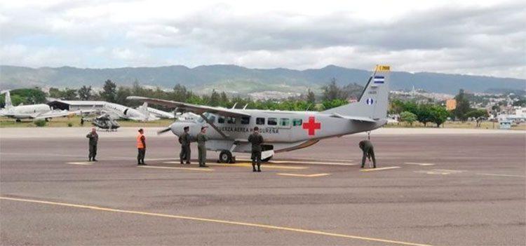 Respuesta inmediata con aviones ambulancia ante emergencia