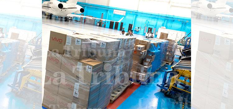 En avión presidencial transportarán equipo biomédico adquirido en Nueva York
