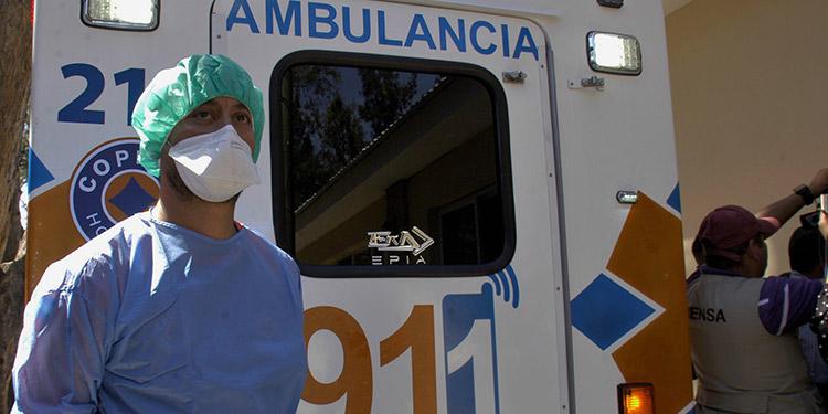 """El hondureño fue trasladado al """"Hospital Nacional del Tórax"""", por presentar sintomatología de infección respiratoria aguda por tuberculosis pulmonar, su estado es severo."""