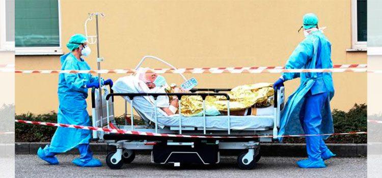 Los fallecidos por coronavirus suben a 1.266 en Italia, 250 más en un día