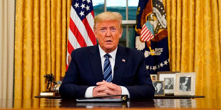"""""""Un virus extranjero"""": Trump impregna de nacionalismo su reacción al COVID-19"""