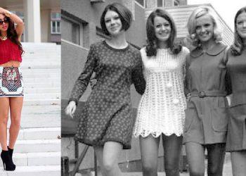 Mini. Un pedazo corto de tela que cambió la apariencia hacia una feminidad joven, moderna y segura de sí misma.