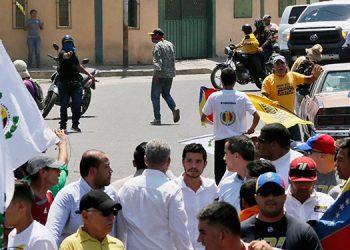 Doce miembros del Grupo de Lima afirman que el ataque a Guaidó refleja la violación de DDHH de Maduro