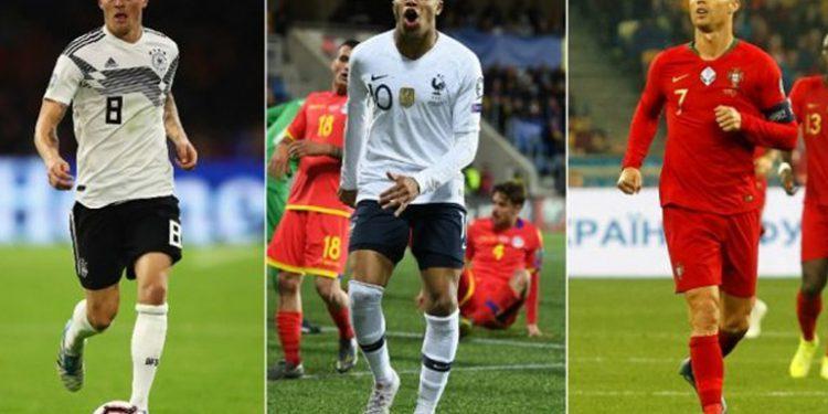 A 100 días de la Eurocopa, ¿cómo están los favoritos y sus estrellas?