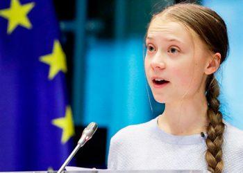 Greta Thunberg pide el voto para Biden