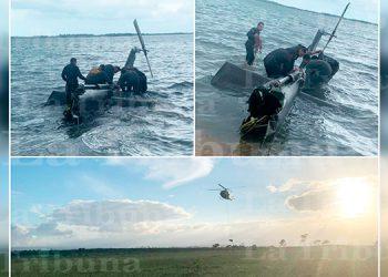 Honduras lidera tarea de rescate de helicóptero accidentado en Belice (Video)