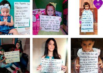 Hijos de nuestros héroes mandan emotivos mensajes a la población hondureña (Video)
