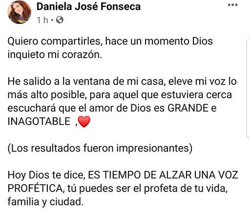 <center><i>Hondureña en España canta desde ventana hermosa alabanza ante la pandemia (Video)</i></center>