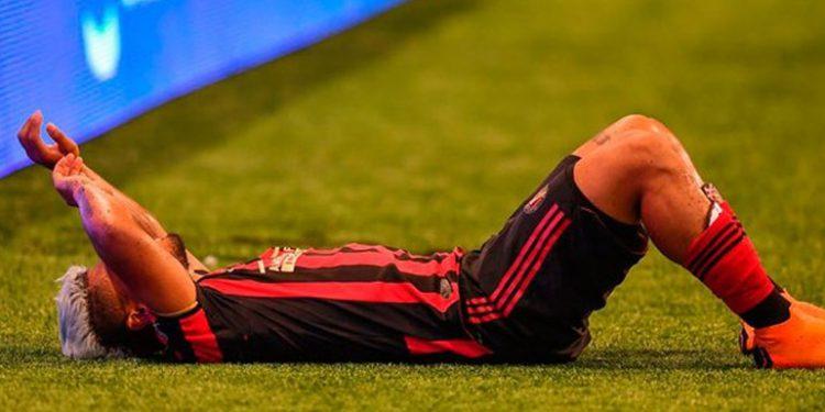 Frustración en Atlanta ante la grave lesión sufrida por Josef Martínez