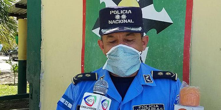 Roberto Naín Núñez, jefe policial.