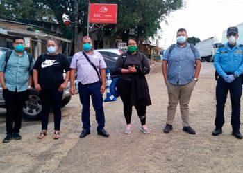 Llegan a Las Manos hondureños que retornan de Costa Rica y EEUU