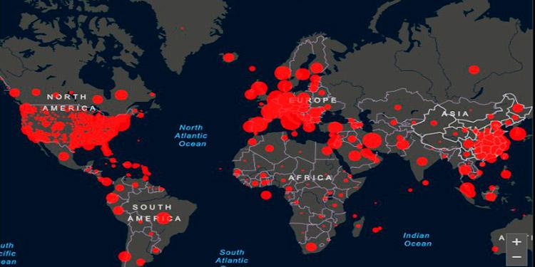 El coronavirus infecta a más de 413,000 personas en el mundo y mata a 18,433