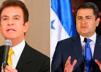 Video de Nasralla y Hernández estrechándose la mano causa polémica