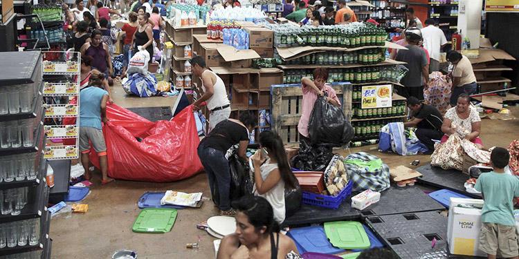 Reportan saqueos en el centro de México aprovechando pandemia por COVID-19