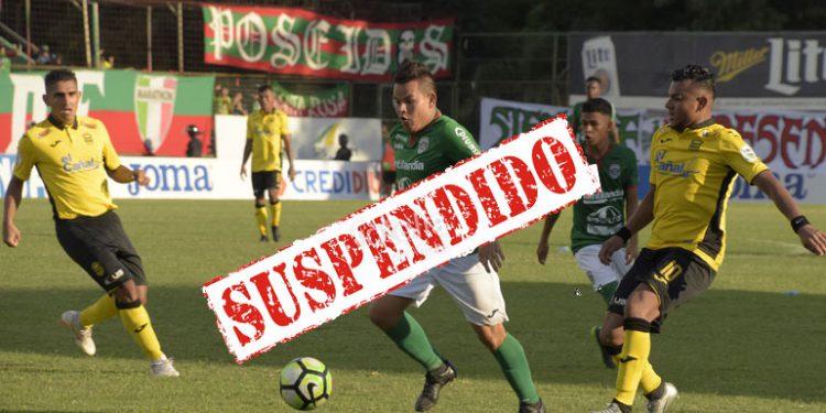 ¡SUSPENDIDO! torneo Clausura de la Liga Nacional