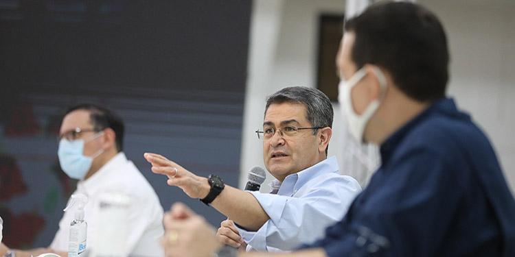 El mandatario planteó que ya la cultura del hondureño tiene que ir cambiando.