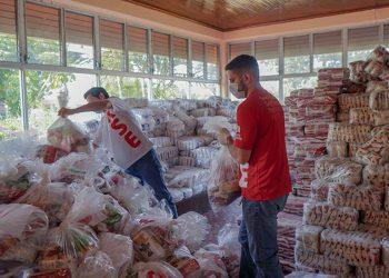 Banco Atlántida llega con 7.000 canastas familiares a necesitados, destaca su presidente ejecutivo