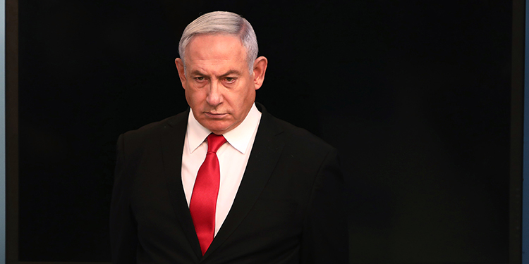 El primer ministro israelí, Benjamin Netanyahu.