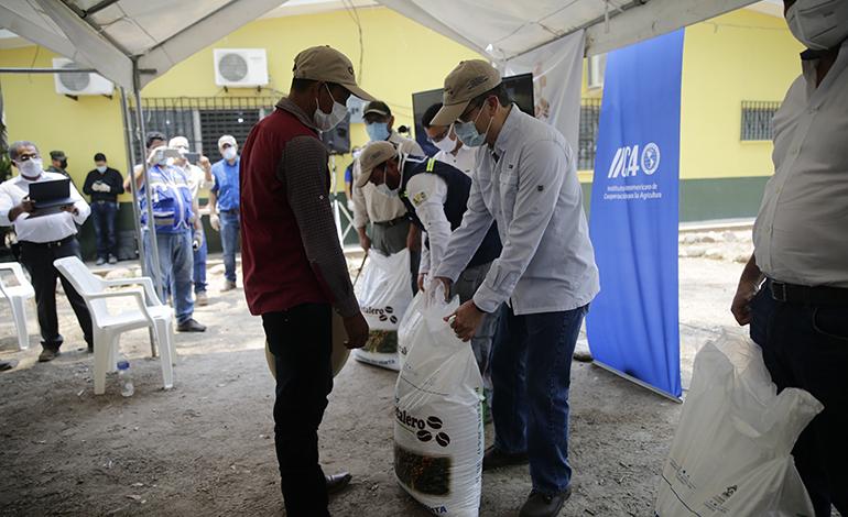 Más de 91.000 productores se beneficiarán con Bono Cafetalero