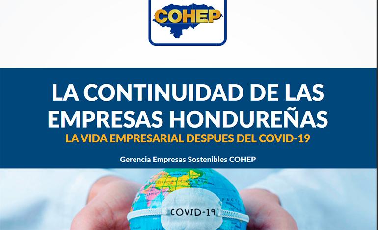 COHEP publica interesante documento sobre la continuidad de las empresas después del COVID-19