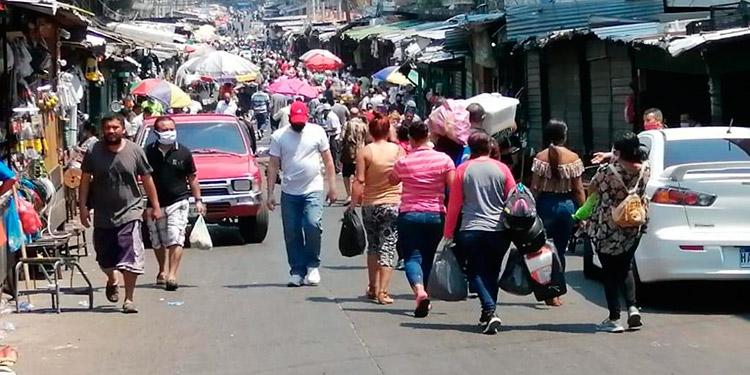 Los mercados fueron abarrotados desde tempranas horas.
