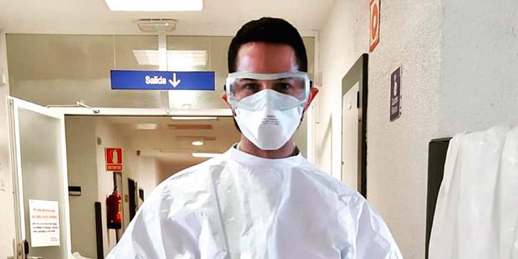 El doctor Gerardo Napky Raudales trabaja en el Hospital Universitario La Paz de Madrid, España.