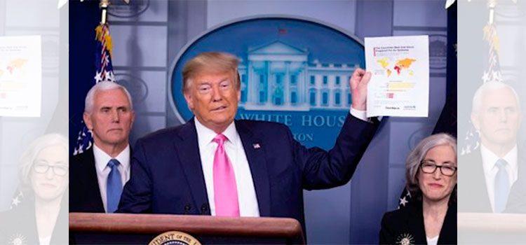 La Casa Blanca anula conferencia diaria y Trump se lanza contra la prensa