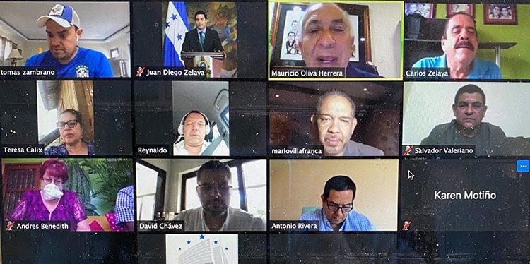 Diputados estrenan sesiones virtuales entre la emergencia por COVID-19 en Honduras